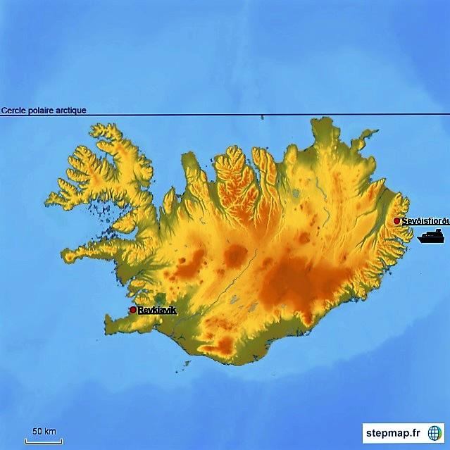 001 Carte Islande