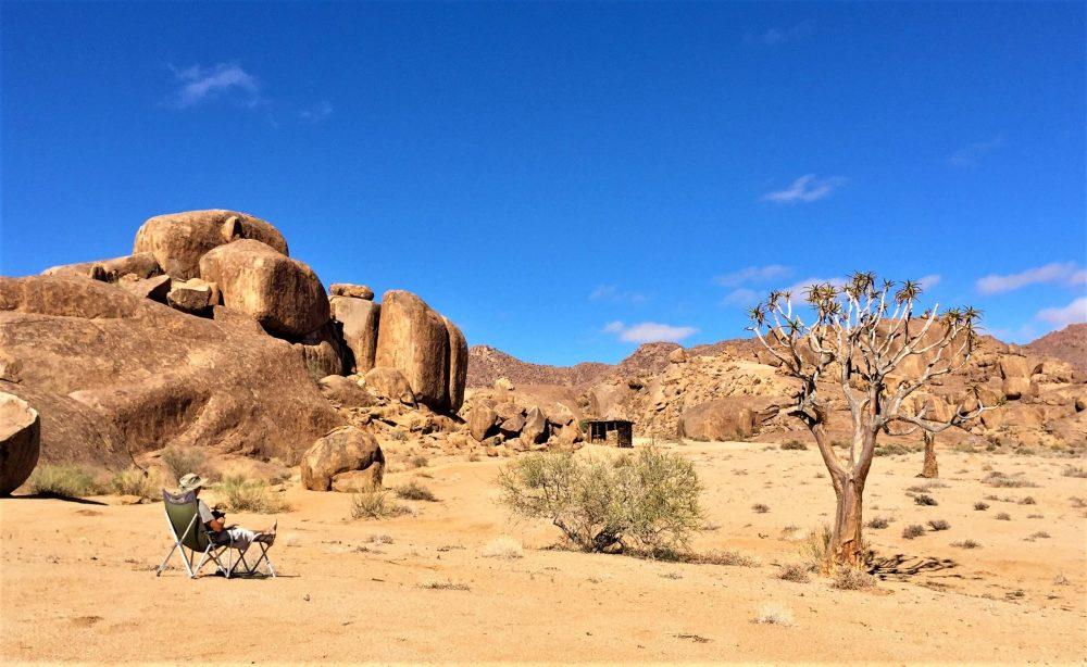 Milke en Namibie